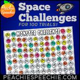 100 Trials Articulation Space Challenges