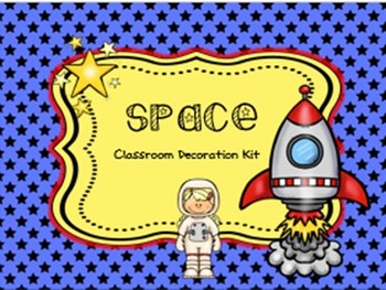 Space Classroom Decorations