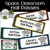 Space Classroom Hall Passes