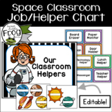 Space Classroom Jobs / Helpers Chart
