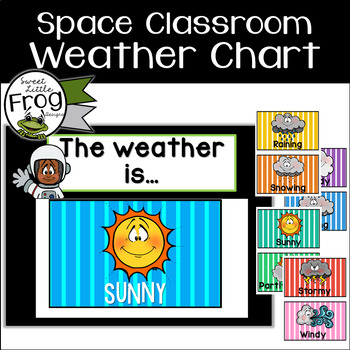 Space Classroom Weather Chart