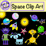 Space Clipart - Alien Clipart - Fun Clipart