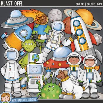 Blast Off Clip Art