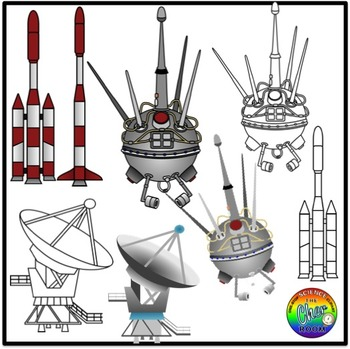 Space Clipart (Communications)