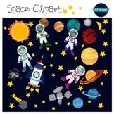 Space Clipart & Digital Papers {L.E. Designs}