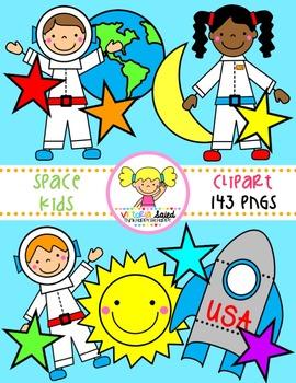 Space Clipart {Kids Clipart}