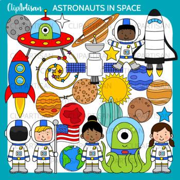 Astronaut Clip Art, Solar System
