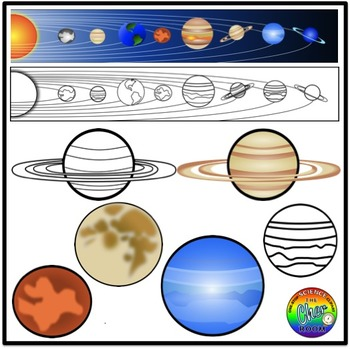 Space Clipart (Solar System)