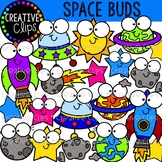 Space Clipart: Space Buds {Creative Clips Clipart}