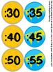 Space Clock Numbers