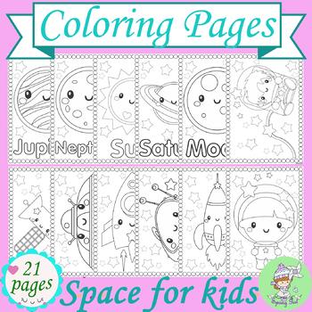 Cosmic Cats Galaxy Fun Coloring Page   crayola.com   Crayola ...   350x350