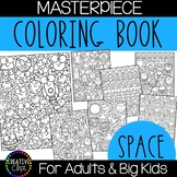 Space Coloring Pages: Masterpieces {Made by Creative Clips}