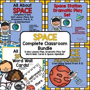Space: Complete Classroom Bundle for Preschool, PreK, K & Homeschool