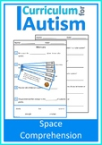 Solar System Space Comprehension Set Autism Special Education