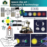 Space Clip Art - Concepts and Technology