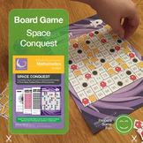 Prime Numbers, Multiples and Times Tables board game Space Conquest