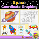 Space Coordinate Graphing Mystery Pictures, Ordered Pairs,