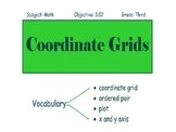 Space Coordinate Grid PPT