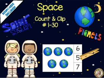 Space Count & Clip 1-30