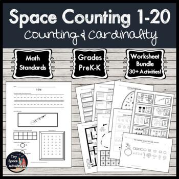 Space Counting 1-20: Prek-K
