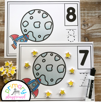 Space Counting Mats 1 - 20