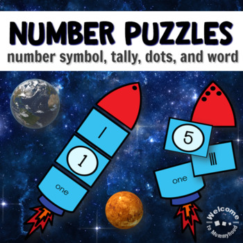 Space Counting, Missing Number, and Skip Counting Activities