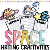 Space Craftivities (Planet Reports & Space Themed Creative Writing)