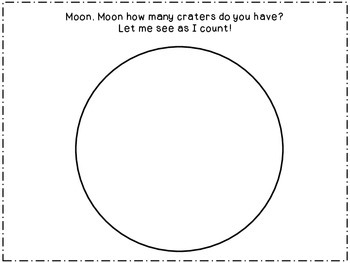 Space Crater Snack Math Activity