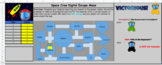 Editable Space Crew Digital Escape Maze Template (Google Sheets)