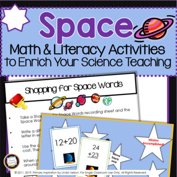 Space ~ Cross-Curricular Activities to Enrich Your Science Teaching