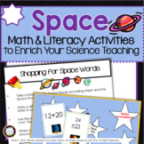 Space Activities for Math and Literacy