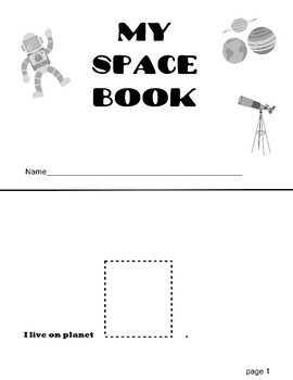 Space Cut and Paste Packet