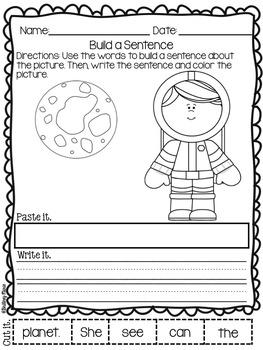 Space Cut and Paste Sentences