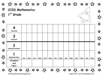 Space Data Pack/Folder/Notebook/Binder for each 1st Grader's Personal Best