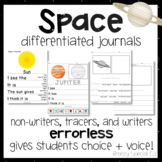 Space Differentiated Leveled Journal Writing for Special E