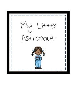 Space Digital Print: My Little Astronaut (boy & girl)