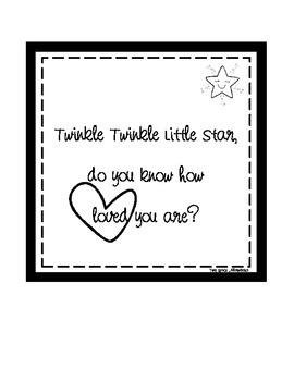 Space Digital Print: Twinkle Twinkle Little Star
