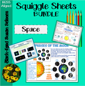 Space Doodle Notes Bundle