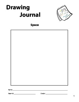 """Space"" Drawing Journal"