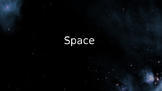 Space ESL Discussion Powerpoint