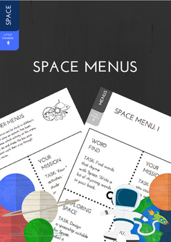 Space Early Finisher Menus