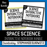 Astronomy Space Interactive Notebook Unit Bundle | Editable Notes