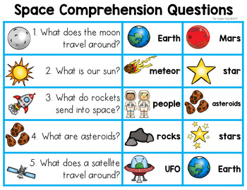 Space Emergent Reader