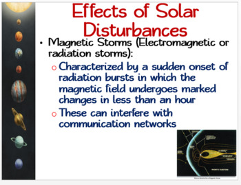 Space Environment around the Earth: PowerPoint, Student Guided Notes, Worksheet