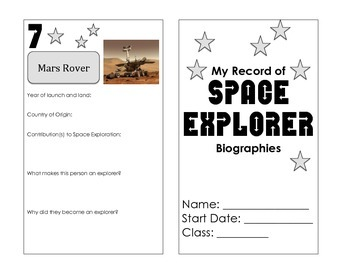 Space Exploration Biography Log