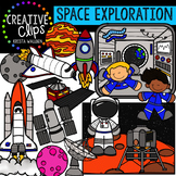 Space Clipart: Exploration {Creative Clips Clipart}