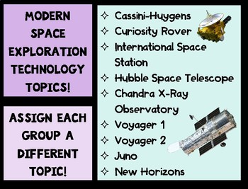 Space Exploration Infographic Poster Project