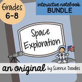 Space Exploration Interactive Notebook BUNDLE by Science Doodles