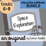 Space Exploration Interactive Notebook Doodle BUNDLE - Notes