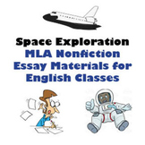 Space Exploration - MLA Expository Essay Resources & Materials